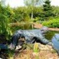 Tuinbeeld met textielverharder maken als tuindecoratie of als tuinornament