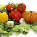 Verse groenten en groenten uit diepvries