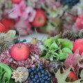Decoratieve herfstschaal