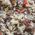 Risotto met eekhoorntjesbrood en venkel