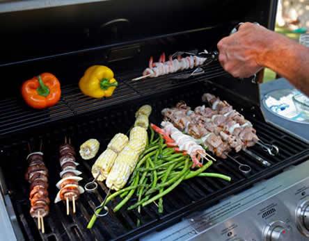 barbecue groenten braden bbq
