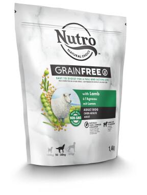 Nutro hondenvoer Grain Free adult - lam - 1,4 kg