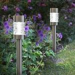 Tuinverlichting op zonne-energie voor op tafel of in de grond