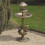 Vogelhotel - solar brons kunststof