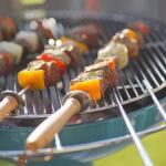 BBQ spiezen met afschuifring