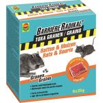 Barriere radical muizengif graantjes 6 x 25 g