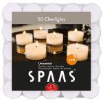 Clearlights theelichtjes 6 uren - transparante cups (50 stuks)