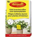 Gele insectenvallen Aeroxon voor kamerplanten (10 stuks)