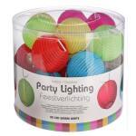 Feestverlichting 20 ledlampen - 5 kleuren