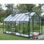 Saturn 11500 groene tuinkas 11,5 m² + gratis snelbouwfundering