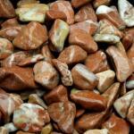 Baskisch rood grind 16/25 in big bag ca. 0,7 m³