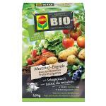 Bio meststof met schapenwol fruit en groenten