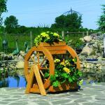 Bloemenrad - 3 bloembakken