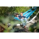 Tweepersoonshangmat Brisa outdoor - zeeblauw