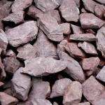 Canadian slate paars 30/60 in big bag ca. 0,7 m³