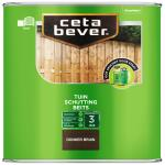 Cetabever Schuttingbeits transparant, donker bruin - 2,5 l