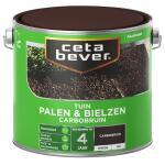 Cetabever Tuinbeits Palen & Bielzen carbobruin, carbobruin - 2,5 l
