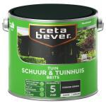 Cetabever Tuinbeits Schuur & Tuinhuis dekkend, donkergroen - 2,5 l
