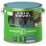 Cetabever Tuinbeits Schuur & Tuinhuis dekkend, hemelsblauw - 2,5 l