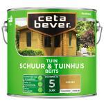 Cetabever Tuinbeits Schuur & Tuinhuis transparant, grenen - 2,5 l