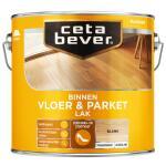 Cetabever Vloer- & Parketlak transparant, blank - 2,5 l