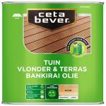 Cetabever Vlonder- & Terrasolie Bankirai UV Proof, blank - 2,5 l