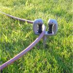 Tuinslanggeleider met grondpin
