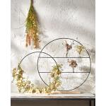 Decoratie cirkel op voet - 40 x 8 cm