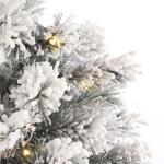 Dinsmore kerstboom kunststof met verlichting - H45 x Ø23 cm