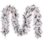 Dinsmore slinger frosted met led verlichting - L 270 cm