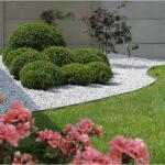Ecolat tuin- of vijverafboording 25 m x 14 cm