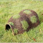 Egelhuis - egelkorf naturel 46 x 33 x 25 cm