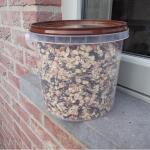 Energierijk vogelvoer in emmer 1,5 kg