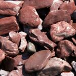 Flat pebbles paars 30/60 in big bag ca. 0,7 m³