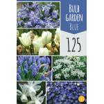 Geschenktas mix 'Garden Blue'