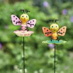 Happy bees tuinprikker  (2 stuks)