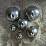 Spiegelbollen inox