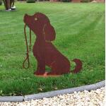 Hond Lucy met leiband - decoroest
