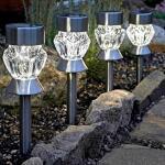 Kristal solar tuinprikker