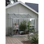 Muurkas Ida + GRATIS fundering - aluminium 3,3 m²