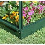 Muurkas Wall Garden 42 groen - 69 x 132 x 182 cm - 0,9 m²