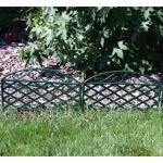 Perkhekje kunststof groen 230 cm (5 stuks)