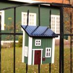 Postbus / brievenbus groen