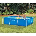 Metal frame zwembad rechthoekig Intex - 300 x 200 x 75 cm