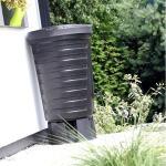 Regenton zwart - 210 liter