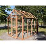 Royal Classic 86 houten tuinkas - 186 x 251 x 234 cm - 4,7 m²