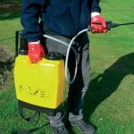 Rugsproeier geel - 20 liter