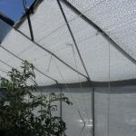 Schaduwdoek wit 1,2 x 5 meter