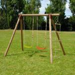 Schommel Tonka 245 x 166 x 190 cm - hout - tot 3 kinderen