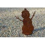 Sneeuwman met muts - decoroest